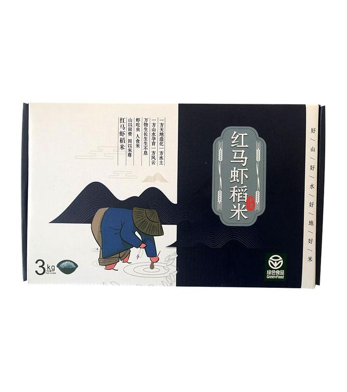 红马虾稻米